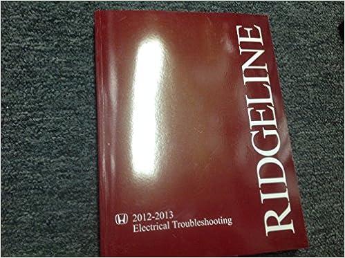 Terrific 2012 2013 Honda Ridgeline Electrical Troubleshooting Wiring Diagram Wiring Cloud Tziciuggs Outletorg