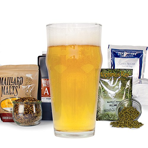 Irish Blonde Ale Malt Extract - HomeBrewing Beer Brewing Recipe Kit - Ingredients For Making 5 Gallons Of Homemade Beer
