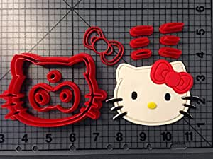 Hello Kitty Cookie Cutter Set (4 inches)