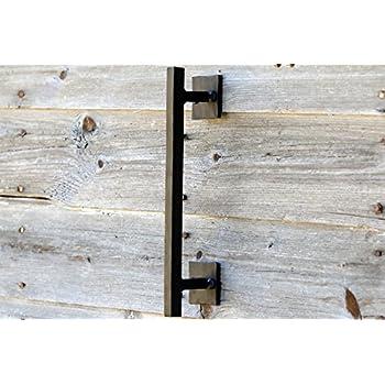 Barn Door Handles Rustic Pulls Handmade Barndoor Hardware Hand Foirged Wrought Iron
