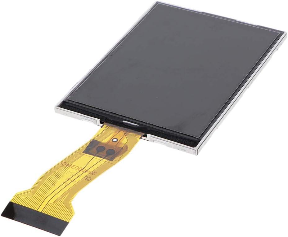 Black Almencla LCD Display and Touch Screen Digitizer Repair for Nikon Coolpix L20 Digital Camera