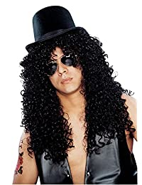 Costume Culture Men's Curly Rocker Wig Deluxe
