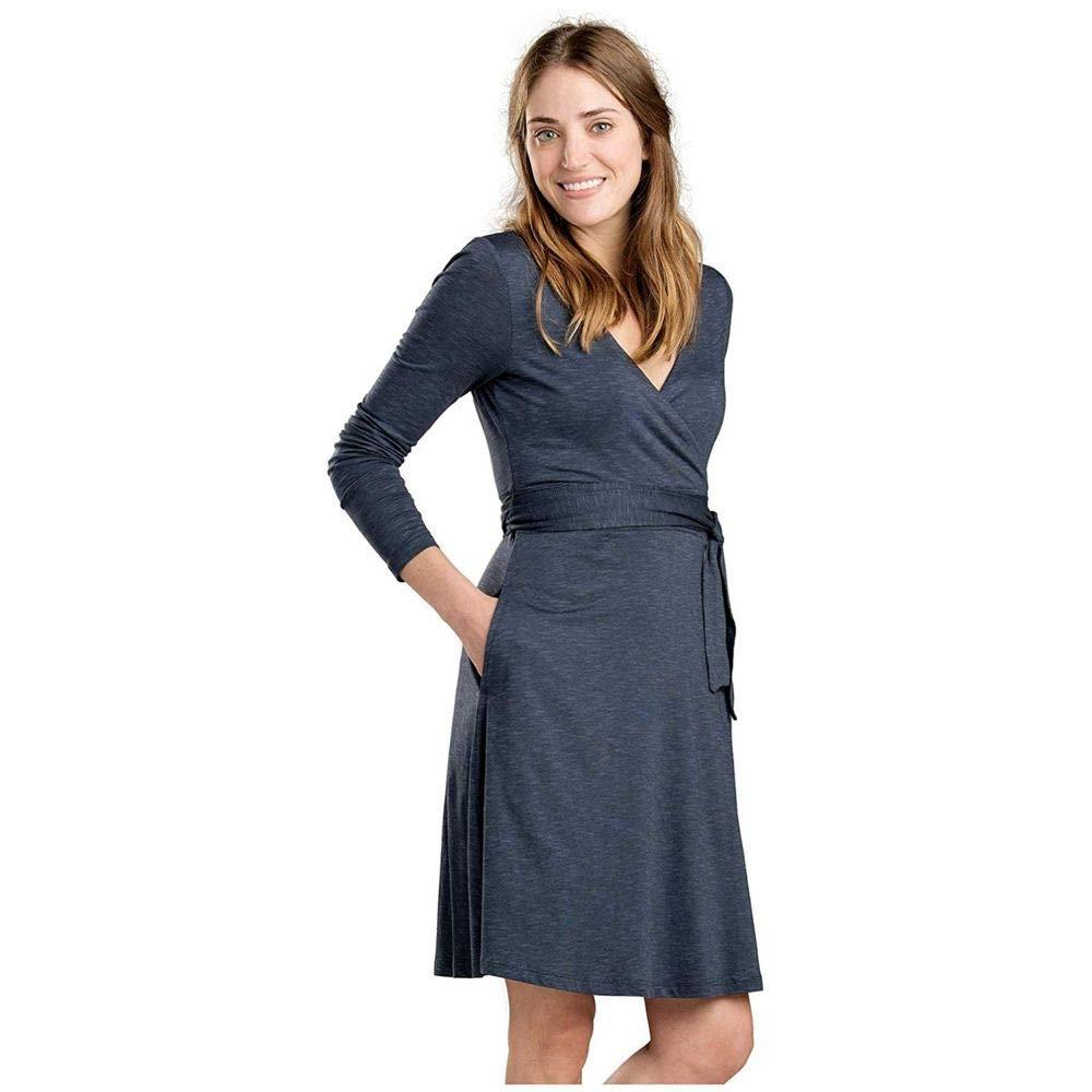 89441039b202 Amazon.com: Toad&Co Cue Wrap LS Dress - Women's: Clothing