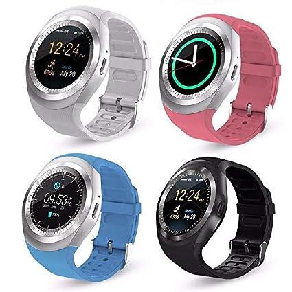 Amazon.com: LPENGBXB Y1 Bluetooth Smart Watch Smart Bracelet ...