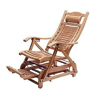 Amazon.com: YAXIAO-Silla plegable de bambú para balancín ...
