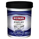 Weiman Jewelry Cleaner Liquid – Restores Shine and Brilliance to Gold, Diamond, Platinum Jewelry & Precious Stones – 7 fl. oz.