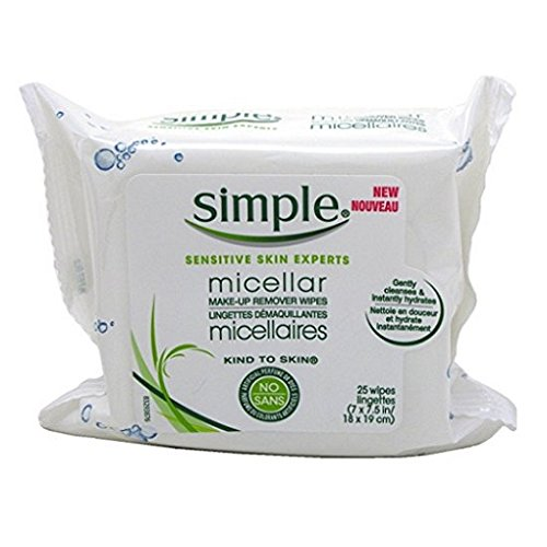 Simple Micellar Makeup Remover Wipes product image