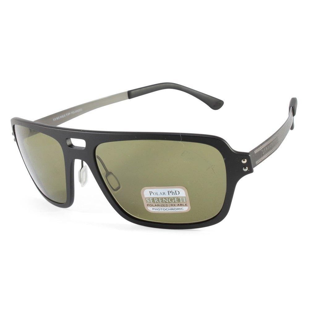 dc4c995c0589 Serengeti Nunzio Sunglasses, Satin Black, Polar PhD Drivers Lens:  Amazon.ca: Sports & Outdoors