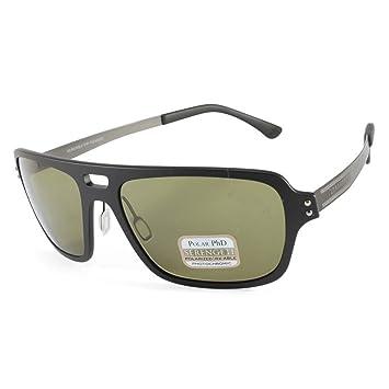 Serengeti Eyewear Sonnenbrille Nunzio, Satin Black, M/L, 7835