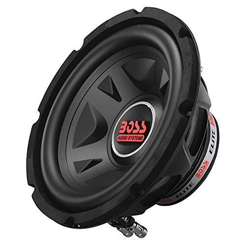 BOSS Audio Elite BE10D 10 Inch Car Subwoofer - 800 Watts Maximum Power, Dual 4 Ohm Voice Coil