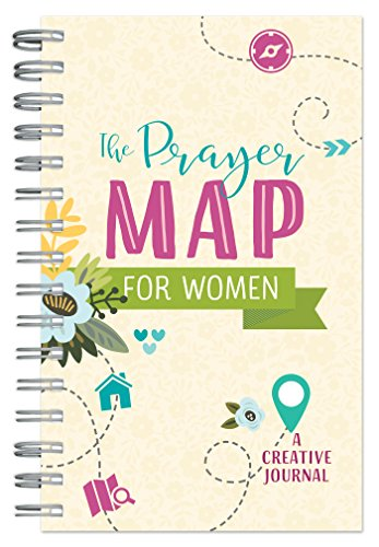 The Prayer Map for Women: A Creative Journal (Faith Maps) - Pray Prayer Journal