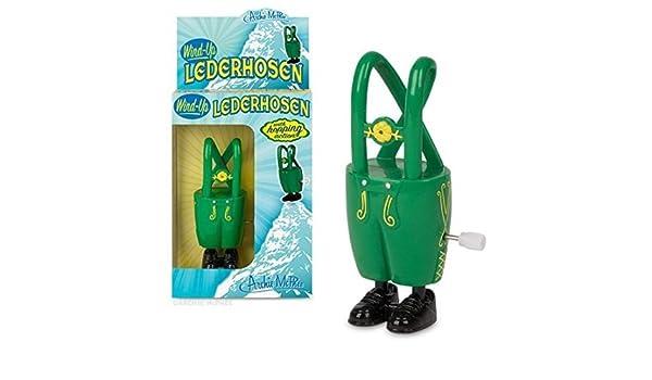 d0650eb89 Amazon.com: Archie McPhee Wind-up Lederhosen: Toys & Games