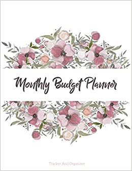 buy monthly budget planner weekly expense tracker bill organizer