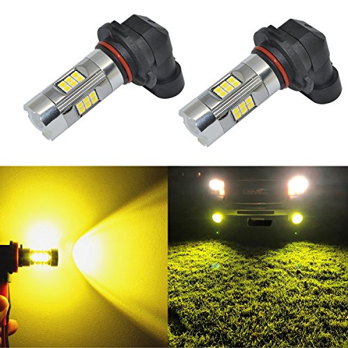 Alla Lighting 3200 Lumens Newest H10 9145 LED Fog Light Bulb