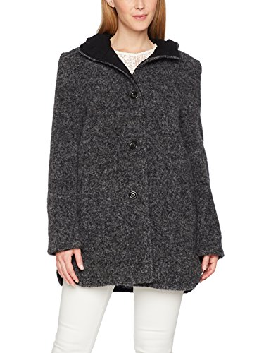 Cappotto Grey Melange Jacques middle Grau Donna Saint 9710 Z5PwSqx