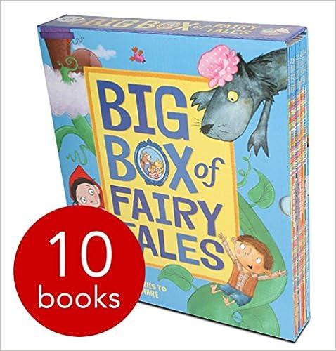 Book Big Box of Fairy Tales Collection Mara Alperin 10 Books Bundle (Little Red Riding Hood,Goldilocks and the Three Bears,The Gingerbread Man...
