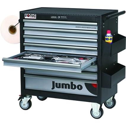 Sonic equipment-Carro de taller JUMBO-599 7599 herramientas