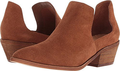 Chinese Laundry Women's Focus Ankle Boot, Rust Suede, 8.5 M US Chinese Laundry Suede Boots