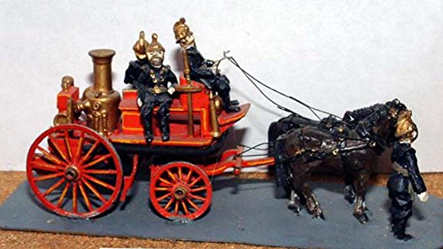 Langley Models Shand Mason Horse Drawn Fire Engine horses OO Scale UNPAINTED Kit G17