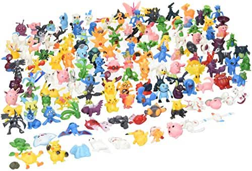 Generic Pokemon Action Figures Monster Action Figures (144 Pieces)