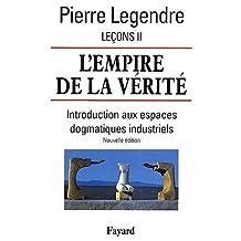 EMPIRE DE LA VÉRITÉ (L') : LEÇON II
