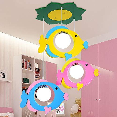 Ceiling Lights Children Bedroom Light Chandelier, JIANGXIN Colorful ...