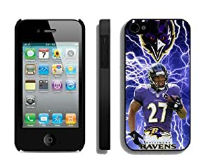 NFL Baltimore Ravens iPhone 4 4S Case 97 iPhone 4 Cases