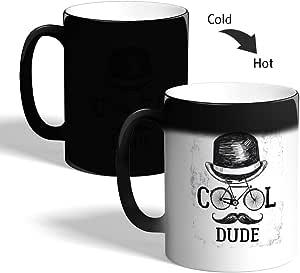 كوب القهوة السحري، اسود، بتصميم كلاسيكي شخص رائع