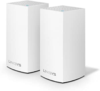 2-Pack Linksys Velop AC1300 Dual-Band Whole Home WiFi Mesh System
