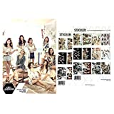 Kpop Girl Group Girls Generation A3 Official Photo Poster Sticker Set #1 : Various 12 Sheets