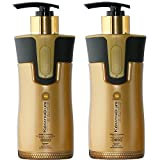 Keratin Cure 0% Formaldehyde Bio-Brazilian Hair Treatment Gold & Honey 300 ml / 10 oz 2 Piece Kit (Treatment & Pre-Treatment Shampoo)
