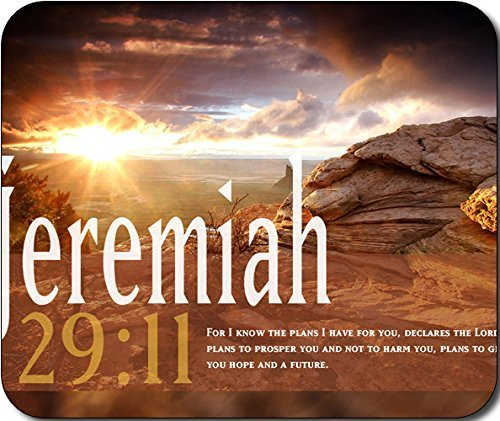 1 X Jeremiah 29:11 Bible Verse Large Mousepad Mouse Pad Great Gift Idea
