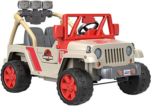 - Power Wheels Jurassic World, Jeep Wrangler