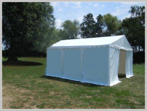 Pavillon Pavillion Festzelt Partyzelt Giant Pro PVC 6x6m 6x6 Ohne Fenster