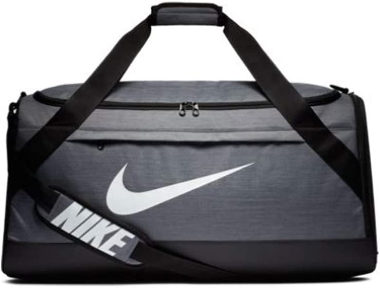 Nike Brasilia Training Duffel Bag Flint Grey//Black//White