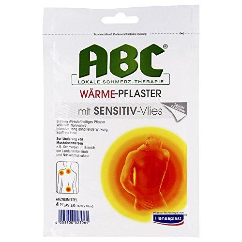 HANSAPLAST med ABC Wärme-Pflaster
