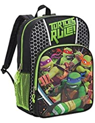 Teenage Mutant Ninja Turtles TMNT Turtles Rule! Large 16 Backpack
