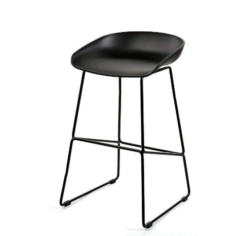 Amazon.com: Silla de bar moderna minimalista para casa ...