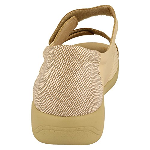 Padders - zapatilla baja mujer - crema