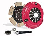 Clutch Kit Works With Honda Delsol Civic Acura El DX EX GX LX Reverb VALUE EX-R CX SI VX 1992-2005 1.5L l4 1.6L l4 1.7L l4 GAS SOHC Naturally Aspirated(D15; D16; D17; 6-Puck Disc Stage 3)