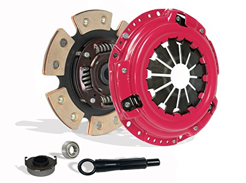 Clutch Kit Works With Honda Delsol Civic Acura El DX EX GX LX Reverb VALUE EX-R CX SI VX 1992-2005 1.5L l4 1.6L l4 1.7L l4 GAS SOHC Naturally Aspirated(D15; D16; D17; 6-Puck Disc Stage 3) by Southeast Clutch