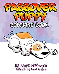 Passover Puppy: Coloring Book