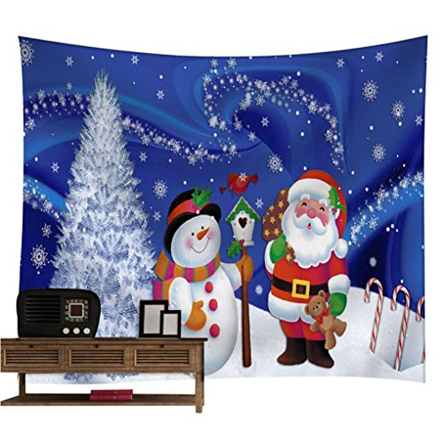 Christmas Decorations,Black Friday Sales Promotions Putars Creative Gift Christmas Xmas Tapestry Hippie Room Bedspread Wall Hanging Throw Blanket for Christmas, Party, House Decorations