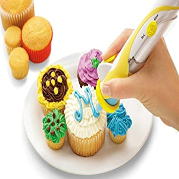 Magic Cup Cake Cookie Pastry Decorating Supplies Frosting Deco Pen ...