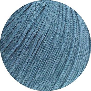 14  taubenblau 50 g Lana Grossa Wolle Kreativ Cashair Fb