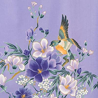 Magnolia Short Cotton Japanese Kimono