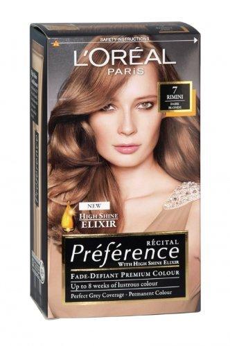 L'Oreal Paris Preference Hair Colour, Dark Blonde (Number, 7)