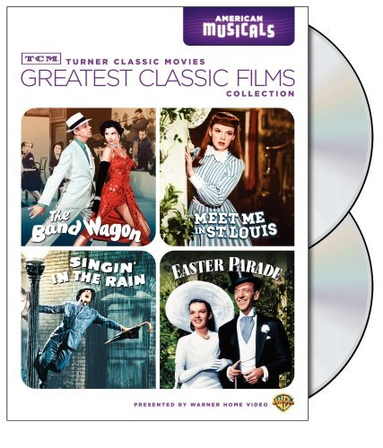TCM Greatest Classic Films Collection: American Musicals (The Band Wagon / Meet Me in St. Louis / Singin' in the Rain / Easter Parade) by