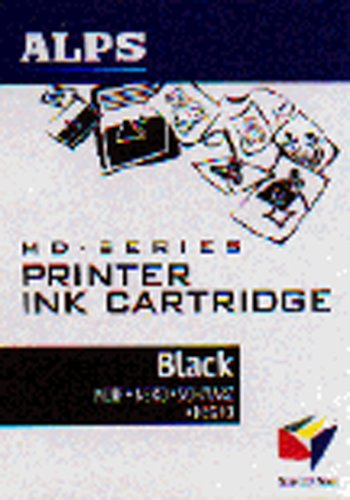 Alps 106005-00 Black Ink Cartridge (MD Series Printers) (00 Black Cartridge)
