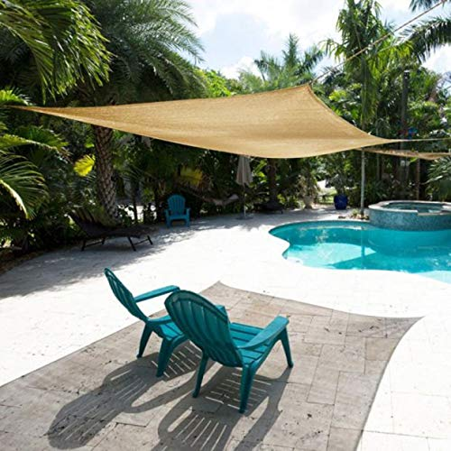 Nappo Sun Shade Sail Canopy Rectangle Sand